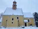 Nasz kościół w zimowej szacie